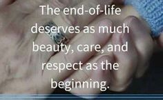 End of life care It's my calling. I always thought so Now, I am with a beautiful company that is a TEAM We work with compassion, honor, love and compassion #HospiceRN