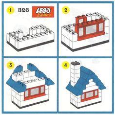 Maison en Legos tuto Plus