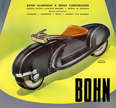 1947 ... motorcycle of tomorrow! by x-ray delta one