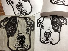 Hey, I found this really awesome Etsy listing at https://www.etsy.com/listing/113872473/pitbull-puppy-stamp-2-x-2-hand-carved