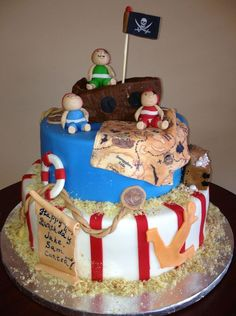 Pirate Cake by Roscoe Bakery