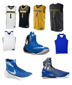 """""""Basketball is life"""" by nikelife ❤ liked on Polyvore featuring moda, NIKE y Under Armour"""