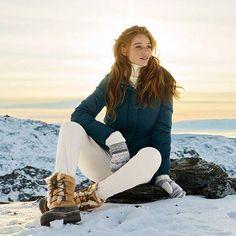 Hallo Sonnenschein! Wintersonne zum Genießen - in Mänteln mit glänzender Wärmeleistung. #Wintersonne #Wintermode #Damenmode