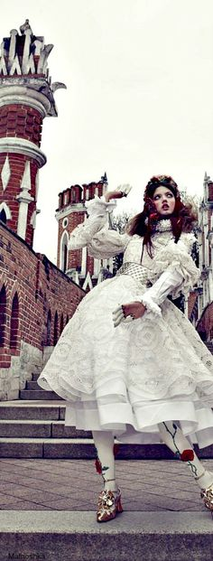 ~The Anastasia of Winter - Vogue Japan December 2013   The House of Beccaria
