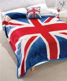 Union Jack Cushion, Union Jack Fleece