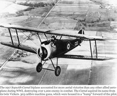 world war one aircraft | World War I Aircraft: The SopwithCamel Eddie Rickenbacker, Air And Space Museum, World War One, Military Aircraft, Fighter Jets, Camel, Trains, Waka Flocka, Wind Rises
