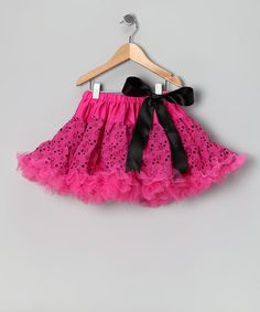 Take a look at this Pink Heart & Star Pettiskirt - Girls by Xcessory International on #zulily today!