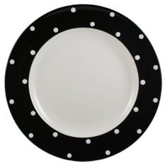 """Spode Baking Days Dinner Plate 10.5"""" - Black by Spode. $12.00. The Baking Days Black Dinner Plate 10.5 in. is part of Spode's Baking Days Black pattern. Dishwasher and Microwave Safe. Spode china has a remarkable history with over 200 years of tradition. Spode is been known around the world as the premier maker of English fine dining. Today, Spode continues to produce timeless classic's along with new design's with a very modern edge. Baking Days is one of Spode's mo..."""