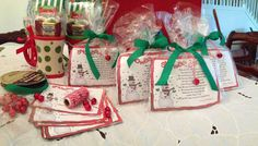 Snowball Soup treat bags for my daughters Girl Scout Troop Christmas party.  Thank you for sharing this idea Gina Miller.
