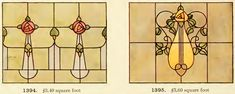 Leaded Glass from International Art Glass Catalogue by National Ornamental Glass Manufacturers Association of the United States and Canada, published in