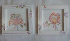 quadros em mdf pintado a mão  medida do quadro 22x22  preço é pelo par de quadros
