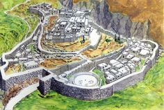 The Mycenaean Acropolis