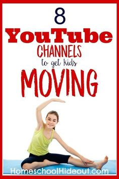 Fun list of quick and easy homeschool PE channels. We've got the very best of YouTube rounded up for you. Beat winter blues or boredom with this easy PE curriculum.