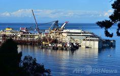 Removal of the  costa concordia