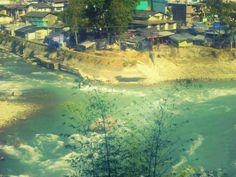 Kali Nadi, Gori Nadi, River, Sangam, Holy River, Gaulgibi, Uttarakhand.