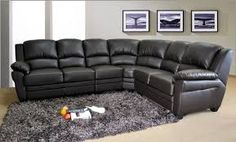 black leather corner suite - Google Search