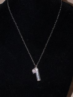 Count Your Blessings Charm on Silver Tone Heart by DLSLimited