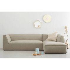 whkmp's OWN Medium Town Hoekbank rechts Town III? Lounge Sofa, Sofa Chair, Armchair, Couch, Soft Seating, Fabric Sofa, Living Room Furniture, Beautiful Homes, Scandinavian