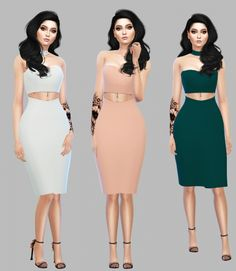 Senix Dress at Simply Simming • Sims 4 Updates