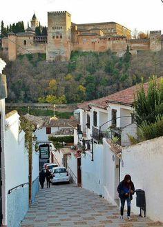 Albaicin. Granada. Andalucía. España