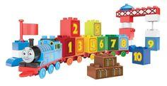 Mega Bloks Thomas 123 Thomas Learning Train - Junior Builders