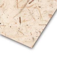 Le papier banane kraft naturel est un papier de fabrication artisanale avec incrustation de feuilles de bananier. #papierbanane