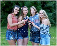 high school senior portraits themed photo shoot senior model team patriotic of July senior girls 4th Of July Pics, Fourth Of July, Senior Portraits, Senior Pictures, Indiana, 4th Of July Photography, Photoshoot Themes, Class Of 2019, Summer Goals