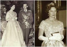 Sapphire Bracelet Tiara - given to Grand duchess Josephine-Charlotte as a wedding gift by the Association de la Noblesse du Royaume de Belgique (ANRB), the Belgian nobility association,
