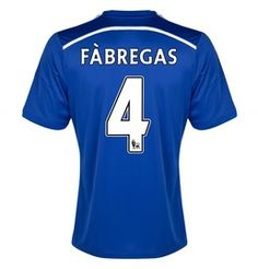 Cesc Fàbregas Chelsea Kids (Boys Youth) Home Jersey 2014 - 2015