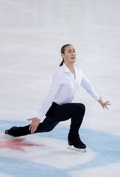 Jason Brown competing in the short program: Skate America 2016
