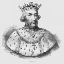 6th. Plantagenet King:   Eduardo II,  . Born:1284; Died 1327.
