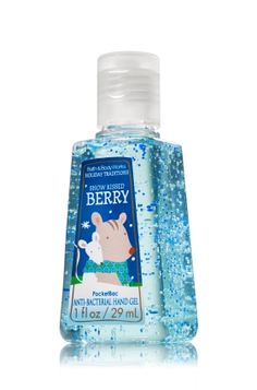 Snow Kissed Berry - PocketBac Sanitizing Hand Gel - Bath & Body Works - This miniature must-have contains natural ingredients and powerful germ killers that keep hands fresh and clean on-the-go with fun holiday fragrances!