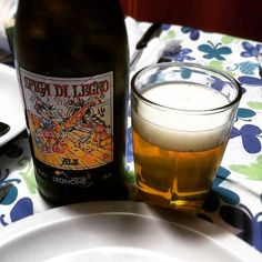 #ale 4 #dinner thx @lucadivino #spigadilegno #birraartigianale #Valtellina #craftbeer #Beer #beergeek #craftbeerlove