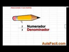 Curso gratis de Matemáticas Quinto Primaria (10 años) - Fracciones | AulaFacil.com: Los mejores cursos gratis online