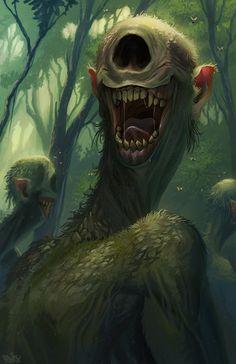 Captivating Drawing On Creativity Ideas - Drawing Doodle ArtStation – Tigbanua, Brian Valeza – - Monster Art, Monster Concept Art, Monster Design, Dark Fantasy Art, Fantasy Kunst, Fantasy Artwork, Creature Concept Art, Creature Design, Arte Horror