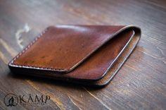 Slim Geldbörse Leder / credit Card-Inhaber