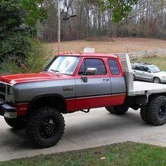 First gen dodge, 😍 my next truck! Lowered Trucks, Jacked Up Trucks, Dually Trucks, Dodge Trucks, New Trucks, Custom Trucks, Cool Trucks, Pickup Trucks, Dodge Diesel