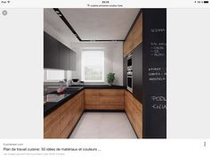Contemporary wood Kitchen Interior Design is part of Kitchen cabinet design - Welcome to Office Furniture, in this moment I'm going to teach you about Contemporary wood Kitchen Interior Design Modern Kitchen Design, Interior Design Kitchen, Contemporary Kitchen Cabinets, Minimal Kitchen, Contemporary Interior, Interior Ideas, Contemporary Small Kitchens, Farmhouse Contemporary, Contemporary Stairs