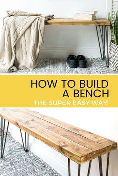 99 best diy bench inspirations images in 2019 furniture makeover rh pinterest com