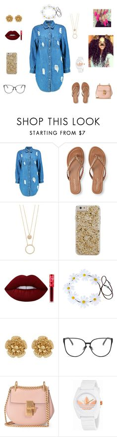 """Happy Birth-Day"" by queenraina1 on Polyvore featuring Boohoo, Aéropostale, Kate Spade, Case-Mate, Lime Crime, Miriam Haskell, Chloé and adidas"