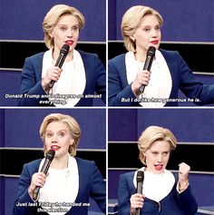 """When it was a simpler time, and Kate said this: 