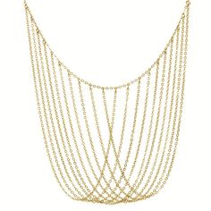 Dress up your LBD and heels with high class when you pair it with this bib necklace.
