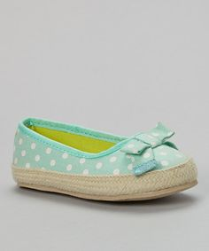 Another great find on #zulily! Light Green Acasia Flat by Carter's #zulilyfinds