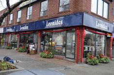 """Christmas packaged"" Leonidas Belgian Chocolate store on Danforth, Toronto ON"