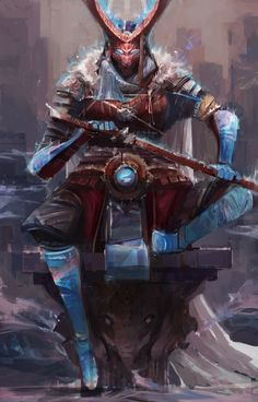 Fantasy Art And Other Stuff Character Creation, Character Concept, Character Art, Concept Art, Dnd Characters, Fantasy Characters, Illustration Fantasy, Ronin Samurai, Samurai Warrior