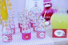 Hostess with the Mostess® - sock monkey birthday party