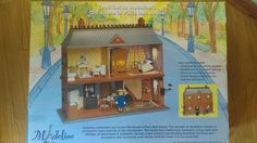 RARE! Madeline Old house in Paris doll house Sealed NIB - no longer manufactured #HousesFurniture