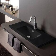 musta pesuallas - Google-haku Sink, Home Decor, Rooms, Google, Bathroom Furniture, Bathroom Fixtures, Bathroom Modern, Houses, Quartos