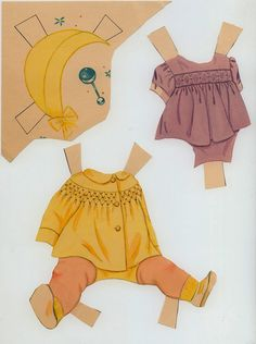 Professione Donna: Paper Doll: Baby