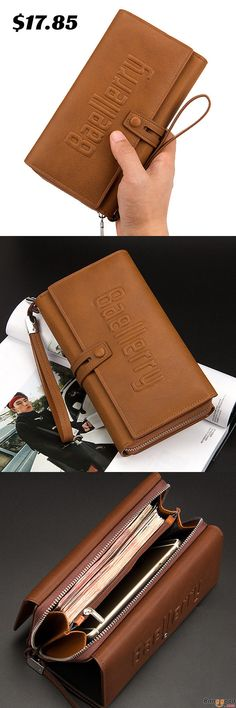 US$17.85 + Free Shipping. Mens Business Clutches Bag Vintage Long Purse 16 Card Slots Card Holder Wrist Handbag. Color: Black, Dark Coffee, Light Coffee, Khaki. >>> To View Further, Visit Now.